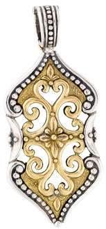 Konstantino Two-Tone Ornate Pendant