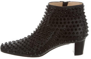 Christian Louboutin Christian Louboutin Aioli Spiked Ankle Boots