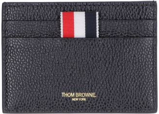 Thom Browne Leather Credit Card Case