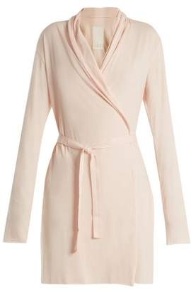 Skin - Pima Cotton Jersey Robe - Womens - Pink