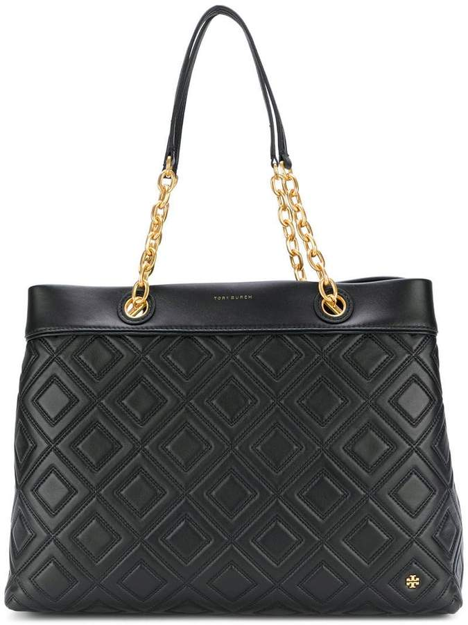Tory Burch Fleming triple-compartment tote bag