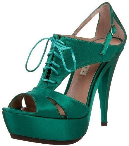 Pura Lopez Women's S257A Platform Oxford Sandal