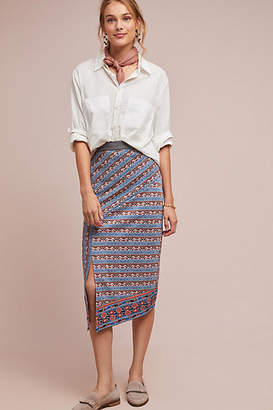 Akemi + Kin Striped Splendor Pencil Skirt