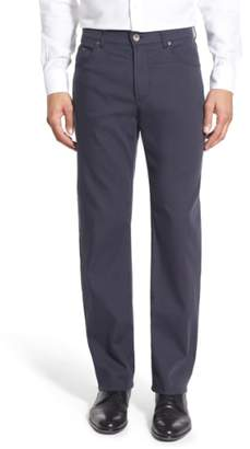 Brax Flat Front Stretch Cotton Trousers