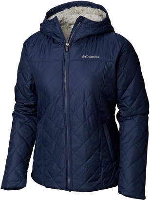 Columbia Copper Crest Hooded Fleece-Lined Jacket