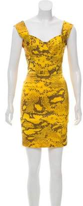Alexis Silk Sleeveless Mini Dress