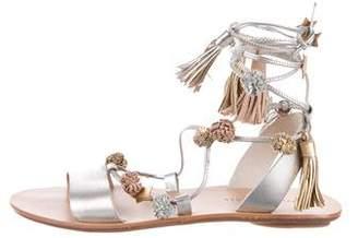 Loeffler Randall Suze Embellished Sandals w/ Tags