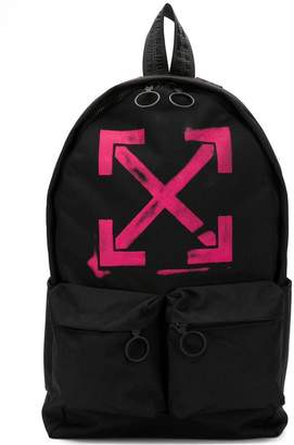 Off-White faded arrow-print backpack