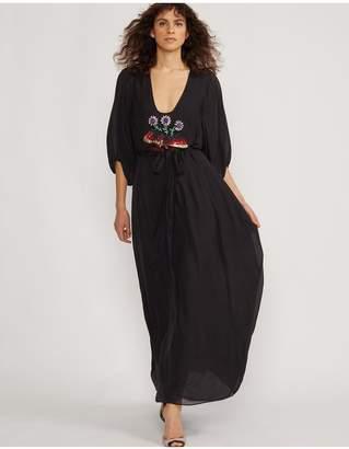 Cynthia Rowley Marquette Sequin Applique Dress