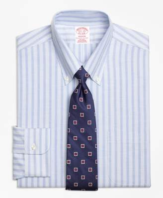 Brooks Brothers BrooksCool Madison Classic-Fit Dress Shirt, Non-Iron Split Stripe