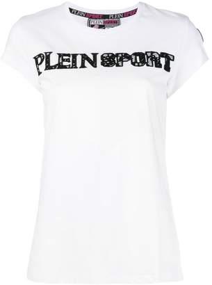 Plein Sport lace logo T-shirt