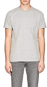 Barneys New York MEN'S STRIPED COTTON JERSEY T-SHIRT