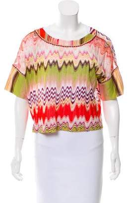 Missoni Mare Crop Cover-Up Top
