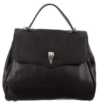 Kieselstein-Cord Large Leather Satchel