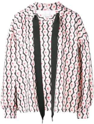 Marques Almeida Marques'almeida floral print hoodie