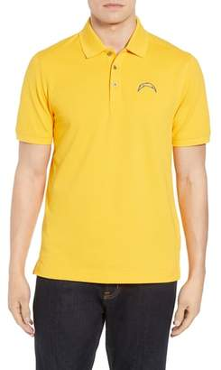 Cutter & Buck Los Angeles Chargers - Advantage Regular Fit DryTec Polo