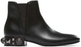 Dolce & Gabbana High-cut Leather Boots