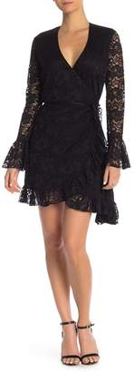 HAH | Hot-As-Hell Wrap Star Lace Dress