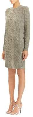 Ralph Lauren Cable-Knit Sweater Dress