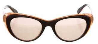 Cat Eye Krewe Irma Cat-Eye Sunglasses
