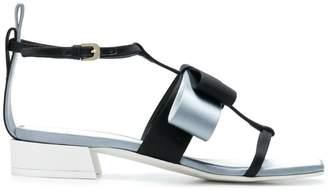 Lanvin square shaped toe sandals