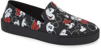Melissa Ground Mickey Mouse Slip-On Sneaker