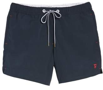 French Connection Marco Slim Fit Swim Trunks