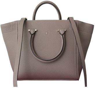 Carolina Herrera Beige Leather Handbag