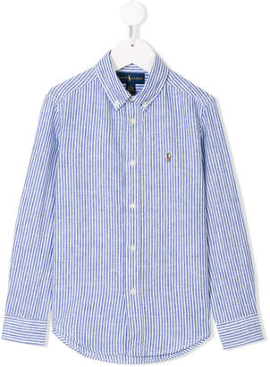 Ralph Lauren button-down striped shirt