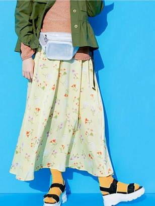 Dukkah (ドゥカ) - Dukkah Dukkah/(L)フラワーマキシフレアスカート ウィゴー スカート