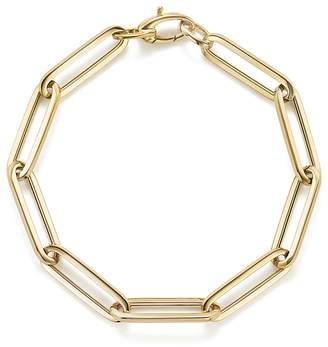 Thin Link Bracelet in 14K Yellow Gold - 100% Exclusive $1,190 thestylecure.com