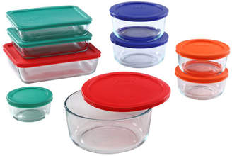 Pyrex Simply Store 9 Container Food Storage Set
