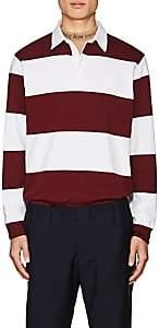Acne Studios Men's Nichols Striped Cotton Polo Shirt - Stripe