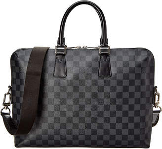 Louis Vuitton Graphite Damier Ebene Canvas Porte-Documents Jour