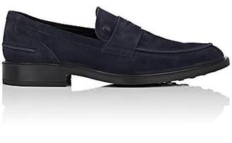 Tod's Men's Suede Penny Loafers - Navy