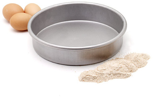 Chicago Metallic 8x2-in. Commercial Round Cake Pan