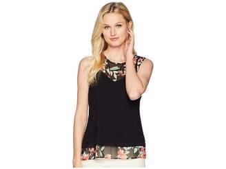 Calvin Klein Sleeveless Knit Pullover Women's Sleeveless