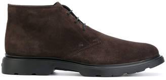 Hogan mid-top lace-up Derby shoes