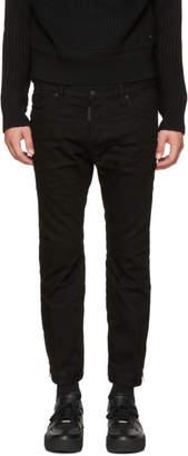 DSQUARED2 Black Biker Sky Jeans