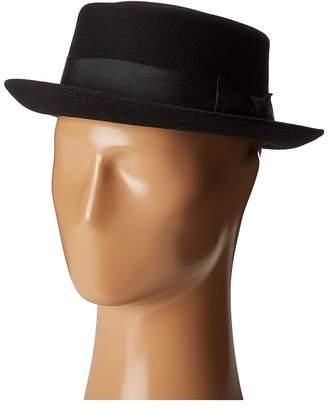 Country Gentleman Walt Wool Pork Pie Hat Caps