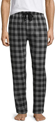 Izod Mens Big & Tall Flannel Pajama Pants