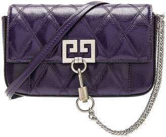 Givenchy Pocket Chain Wallet in Purple | FWRD
