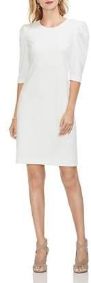 Vince Camuto Ponte Puff Shoulder Dress