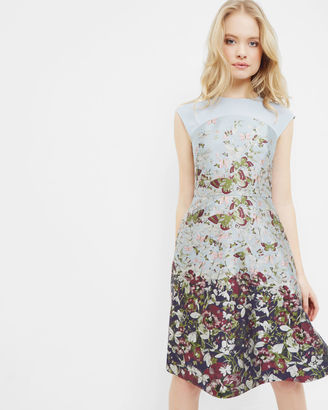 Entangled Enchantment jacquard dress $465 thestylecure.com