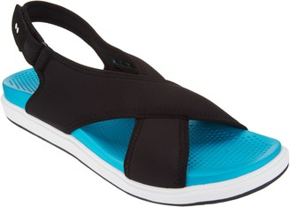 Ryka Neoprene Cross-Band Sandals - Leisure