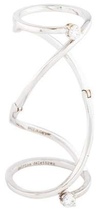 Delfina Delettrez 18K Diamond Handroid Ring