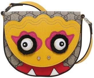 Gucci Gg Supreme Monster Shoulder Bag