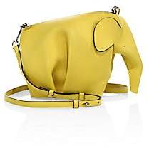 Loewe Women's Mini Elephant Leather Crossbody Bag