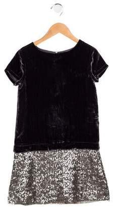 0a185eeb30 Purple Sequin Dress Girls - ShopStyle