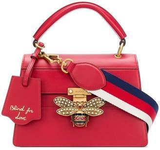 Gucci bee embellished shoulder bag